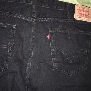 1 pair 505 black corduroy pants Levi